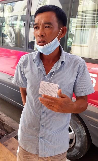 Anh Nguyễn Văn B (chồng chị Thúy A) bức xúc chia sẻ sự việc với phóng viên