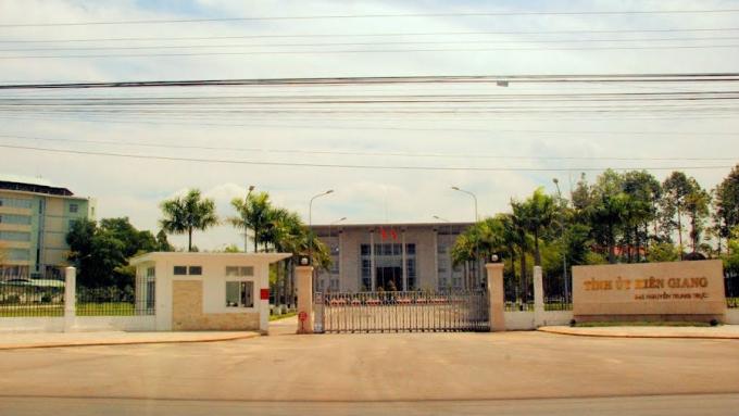 Trụ sở Tỉnh ủy Kiên Giang: Nguồn Pháp luật plus