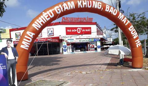 Trung tâm mua sắm Nguyễn Kim Hậu Giang, nơi xảy ra hai vụ án với chung 1 số tiền bị chiếm đoạt