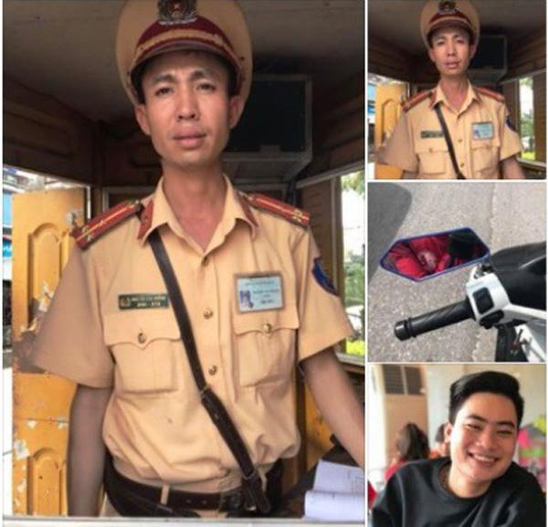 Tài khoản Facebook Tùng Kaka chia sẻ về việc xử phạt của Thượng úy Nguyễn Văn Hưởng, thuộc Đội CSGT TP Phủ Lý khiến cộng đồng mạng bàn tán sôi nổi (ảnh chụp màn hình)