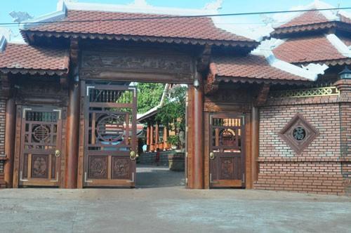Một căn nhà gỗ tại địa bàn huyện Ia Grai, tỉnh Gia Lai