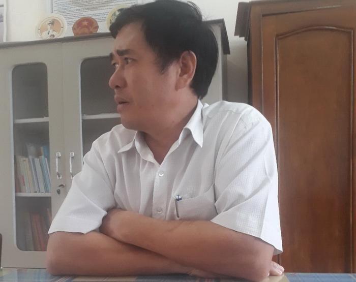 Ông Nguyễn Thành Đức - Chủ tịch UBND xã Kroong xác nhận thanh quyết toán công trình hoàn thành đều có hồ sơ được phê duyệt