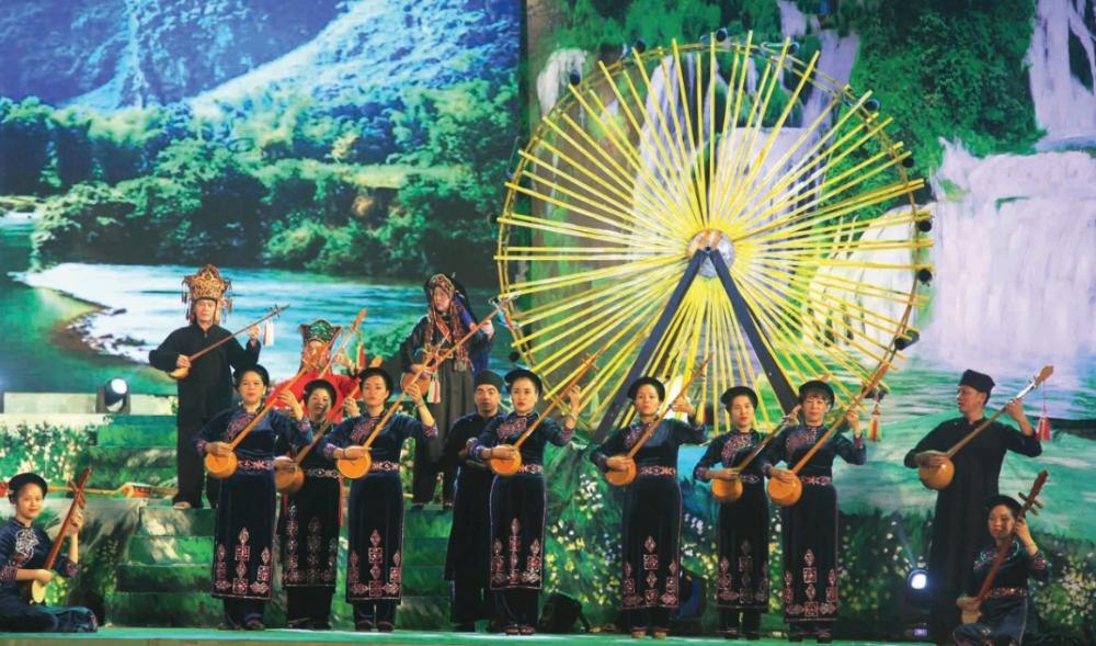 Liên hoan Nghệ thuật hát Then, đàn Tính các dân tộc Tày, Nùng, Thái toàn quốc lần thứ VI năm 2018 được tổ chức tại Hà Giang