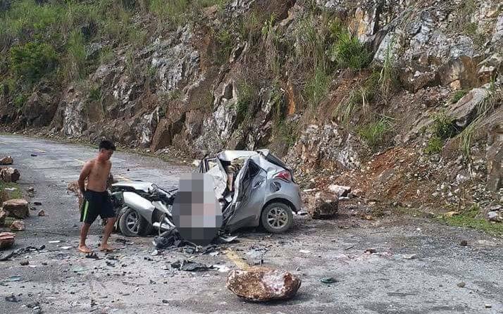 Hiện trường vụ tai nạn khiến 1 người chê
