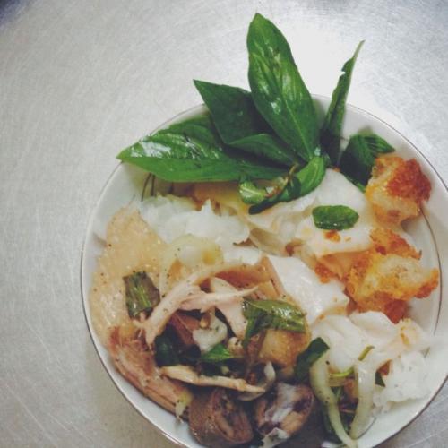 Bánh ướt lòng gà – 48 Tăng Bạt Hổ, Đà Lạt. (Nguồn: yeah1.com)