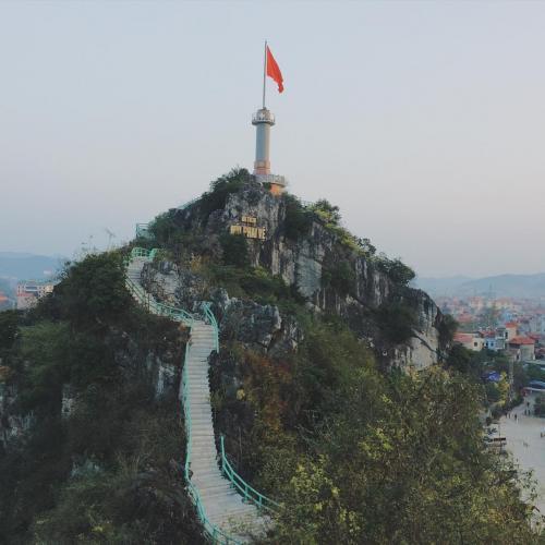 Núi Phai Vệ nhìn từ xa. (Nguồn: Vũ Hà An)