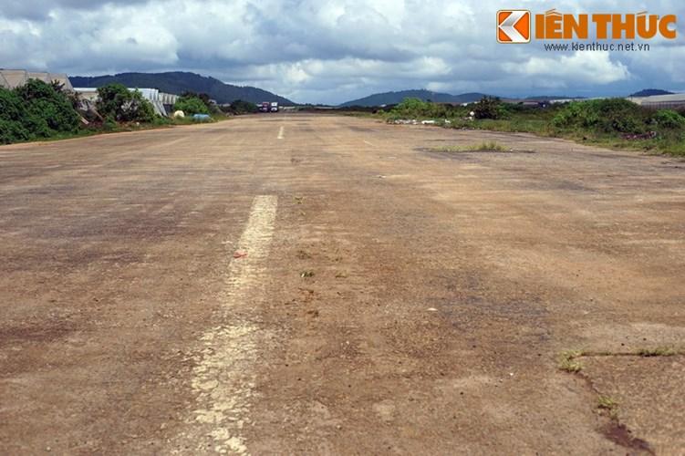 Theo ghi nhận, đến thời điểm hiện tại, phần lớn diện tích của sân bay vẫn bị bỏ không.