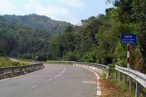 Cầu 42 trên đèo Gia Bắc. (Nguồn: Long Thái)