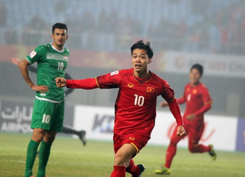 Công Phượng cũng đóng góp cho U23 Việt Nam một bàn thắng