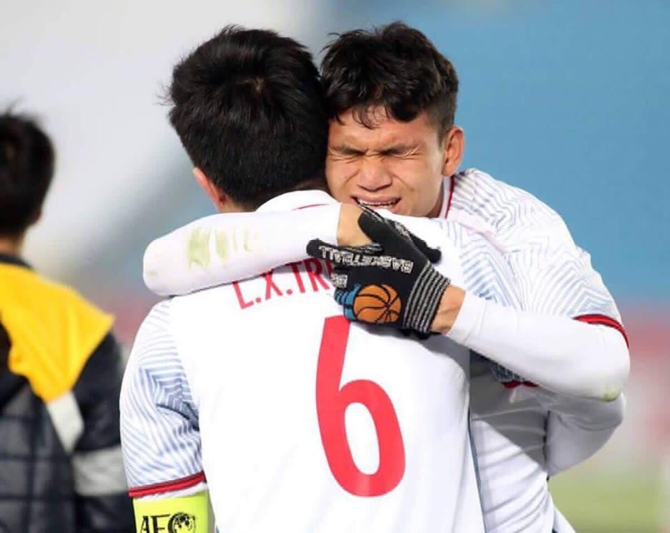 Xuân Mạnh thi đấu thầm lặng, góp công vào kì tích của U23 Việt Nam