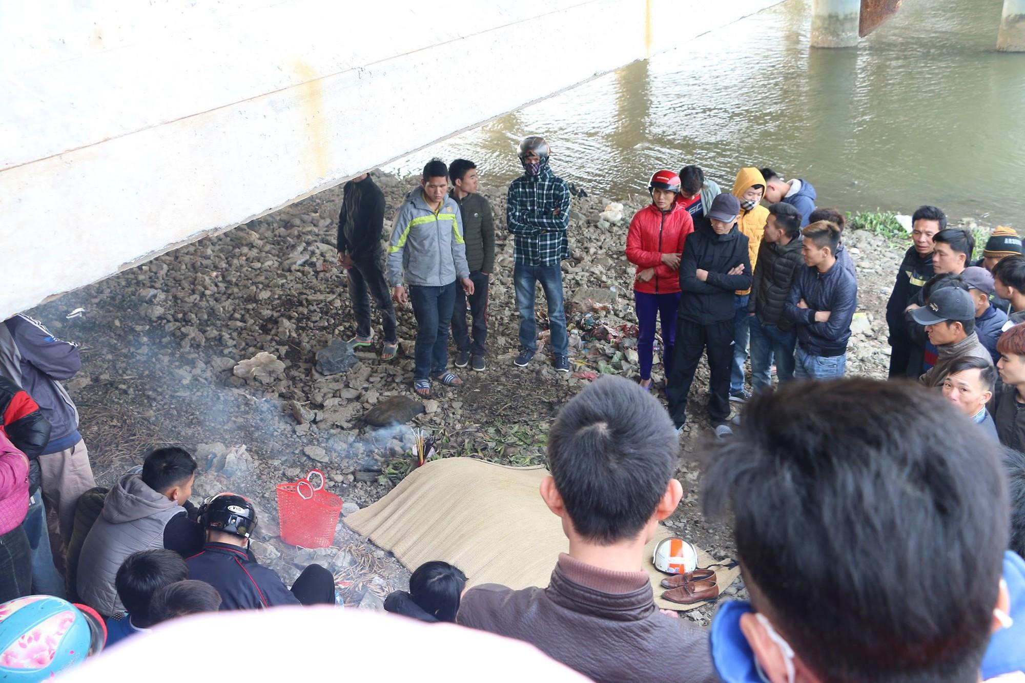 Bờ sông Ghép nơi xảy ra vụ việc thương tâm.