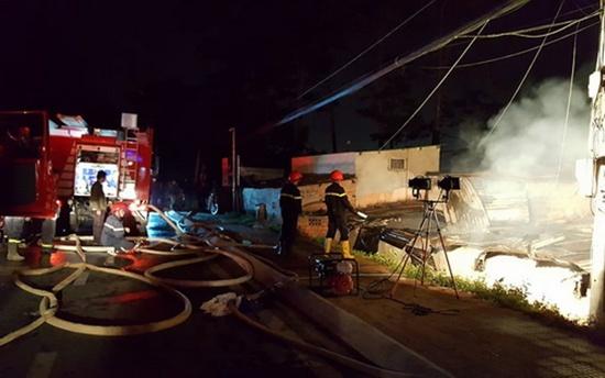 Vụ cháy khiến 5 người trong nhà tử vong