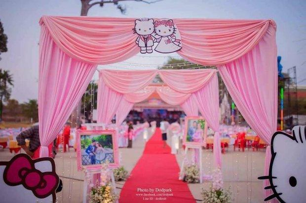 đám Cưới Hello Kitty Khiến Cộng đồng Mạng Phát Cuồng Vì