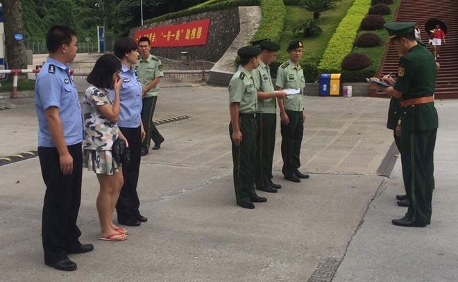 Nạn nhân Nguyễn Thị A được giải cứu.