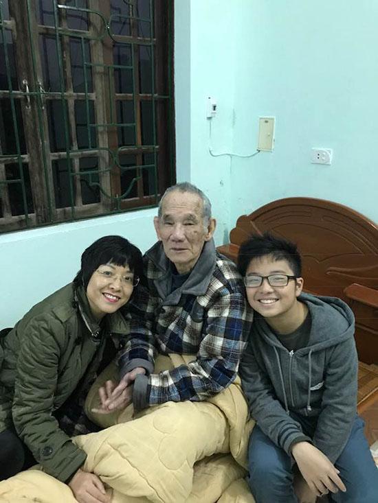 Bức ảnh cuối MC Thảo Vân