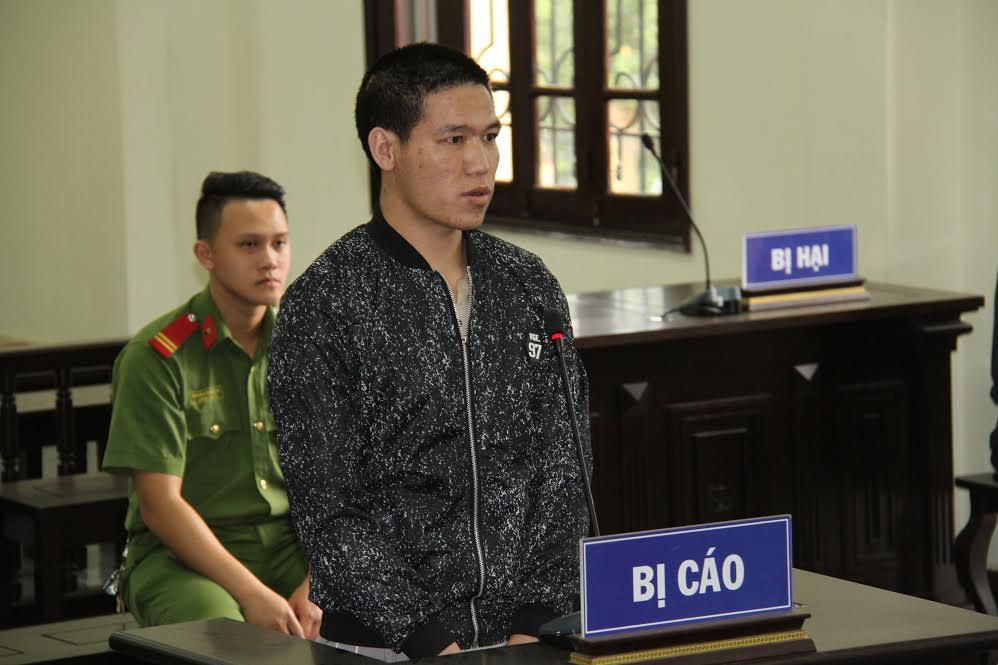 Bị cáo Giàng Seo Vần tại phiên toà