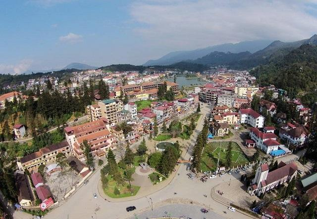 Phong cảnh thị xã Sapa