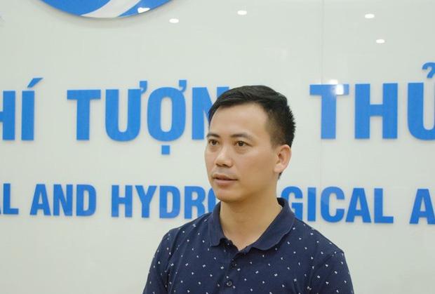 Ông Nguyễn Văn Hưởng, Trưởng phòng Dự báo Khí hậu của Trung tâm Dự báo Khí tượng Thủy văn Quốc gia.