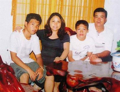 Gia đình Siu Black trước khi sóng gió ập đến.