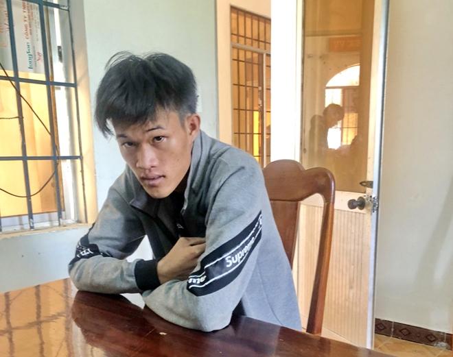 Chân dung hung thủ Phạm Kim Phê sau khi bị bắt giữ.