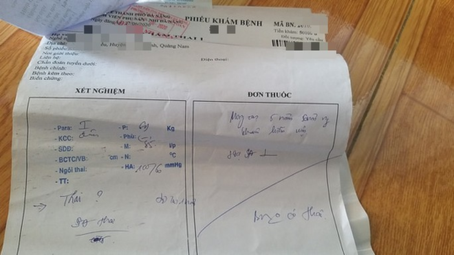 Kết quả siêu âm tại Bệnh viện Phụ sản - Nhi Đà Nẵng khẳng định chị D. không hề mang thai