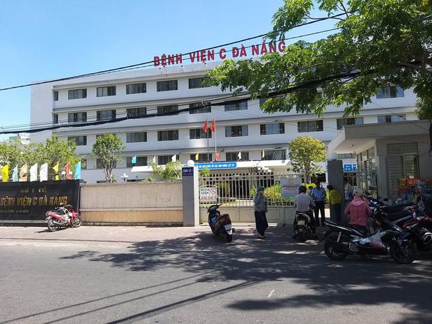 Bệnh viện C Đà Nẵng bị phong tỏa do liên quan một ca nghi nhiễm Covid-19.