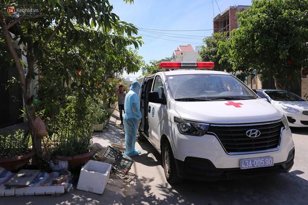 Ngành y tế Đà Nẵng đã thực hiện khử khuẩn, đưa những người tiếp xúc gần bệnh nhân đi cách ly.