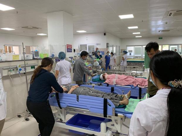 Các nạn nhân cấp cứu tại bệnh viện Cuba Đồng Hới