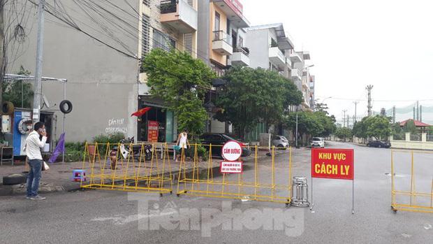 Thành phố Bắc Giang cách ly khu phố có liên quan đến ca bệnh