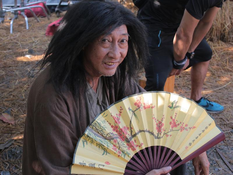 NSUT Lê Bình trong vai Sư phụ Bành