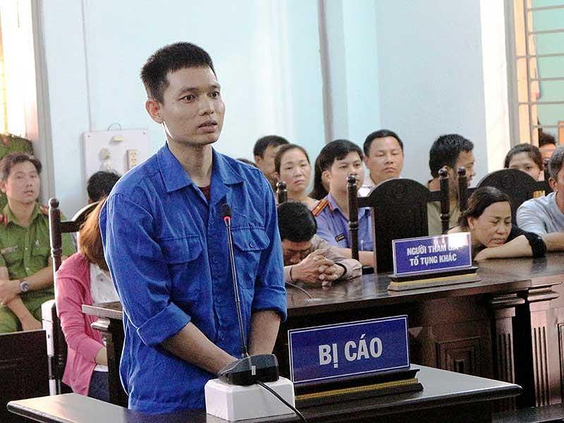 Bị cáo Trương Nam Hải tại tòa. Ảnh: VK