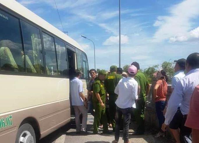 Sự việc chỉ dừng lại khi có sự xuất hiện của Cảnh sát 113, Công an TP Ninh Bình