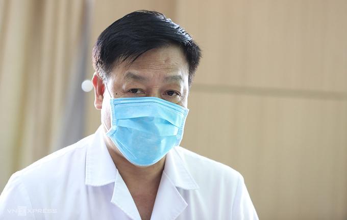 Bác sĩ Phạm Ngọc Thạch, Giám đốc Bệnh viện Bệnh Nhiệt đới Trung ương. Ảnh: Ngọc Thành.