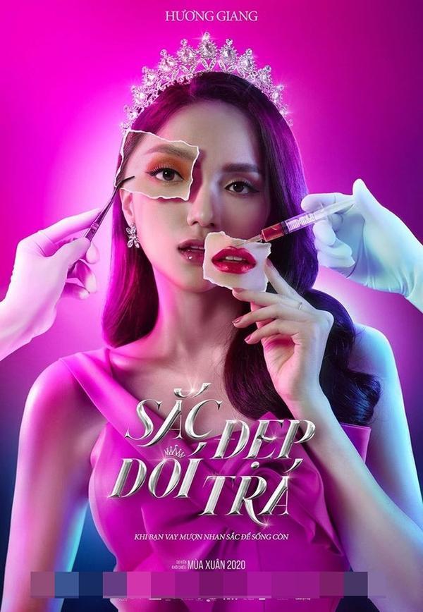 Phim điện ảnh đầu tay của Hương Giang ra mắt hồi Valentine 2020
