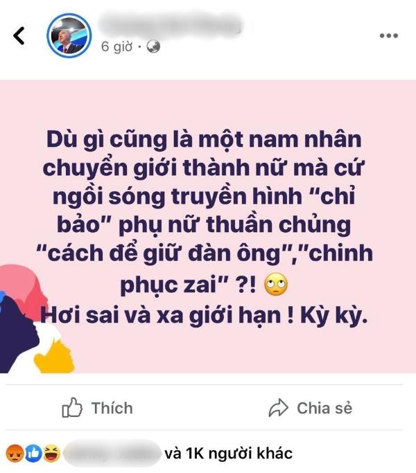 Nguyên văn status của MC Trương Việt Phong