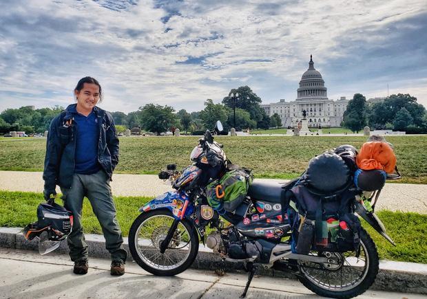 Trần Đặng Đăng Khoa nổi tiếng với hành trình vòng quanh thế giới