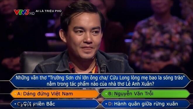 Trần Đặng Đăng Khoa xuất sắc trả lời 14 câu hỏi trong Ai Là Triệu Phú.