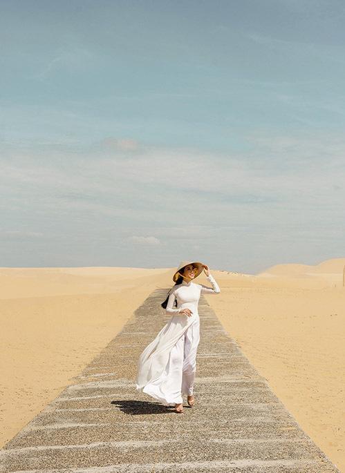 Đồi cát là địa điểm chụp ảnh