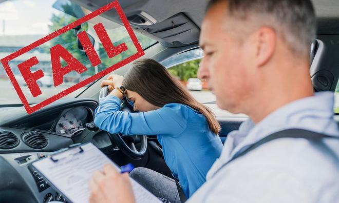 Việc tham gia kỳ thi sát hạch cấp giấy phép lái xe là một cơn ác mộng với nhiều người. (Ảnh minh họa: Internet)