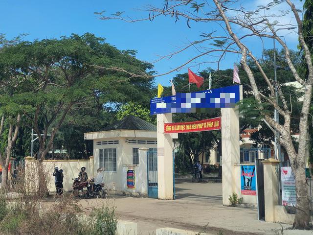 Ngôi trường mà T. đang theo học lớp 7. Ảnh: Thanh Niên