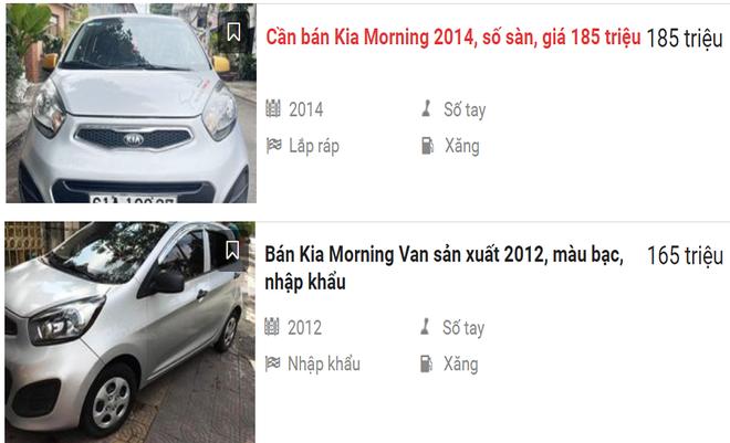 Xe Kia Morning được rao bán giá rẻ.