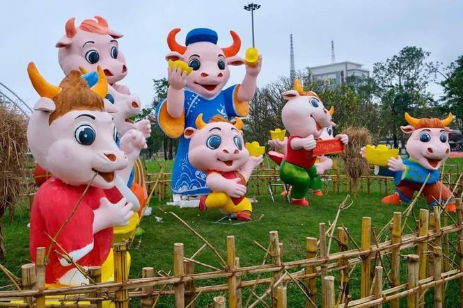 Trâu tại Quảng Nam bao dễ thương dù màu da trông như vừa đi