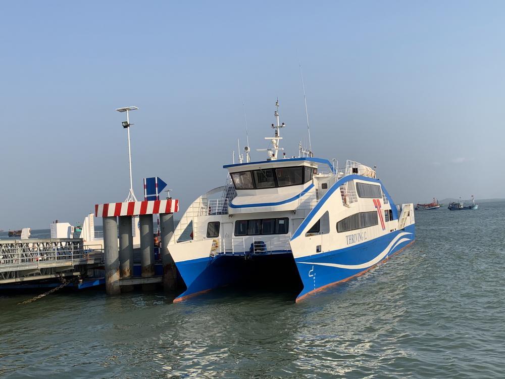 Phà biển Vũng Tàu-Cần Giờ đưa vào hoạt động trong thời gian qua đã giảm tải đáng kể cho QL51.