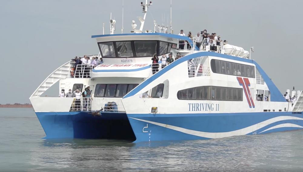 31.000 hành khách đi phà cao tốc Cần Giờ-Vũng Tàu sau 2 tháng đưa vào hoạt động.