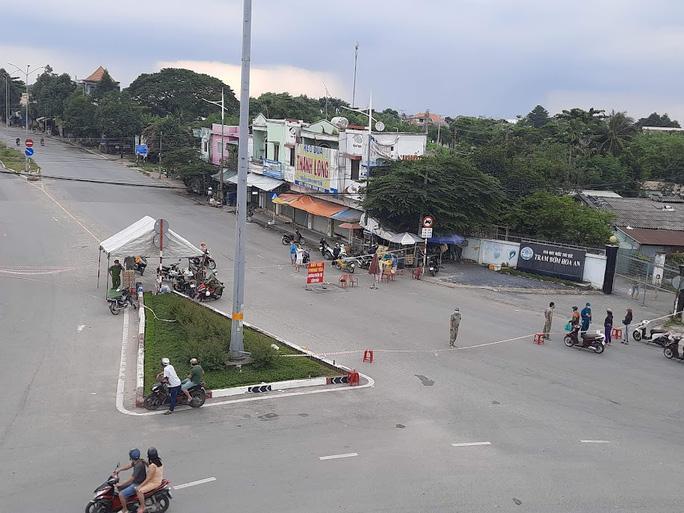 Một chốt phong tỏa tại Đồng Nai