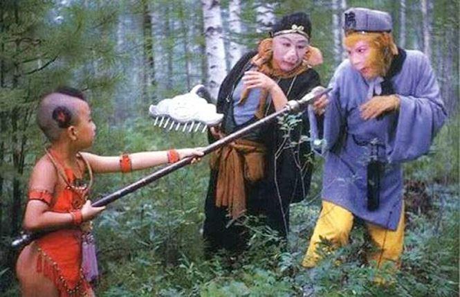Triệu Hân Bồi vào vai Hồng Hài Nhi trong Tây du ký.