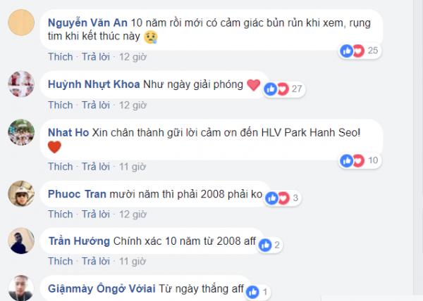 Đã 10 năm kể từ khi Việt Nam đánh bại Thái Lan để đăng quang AFF Cup 2008