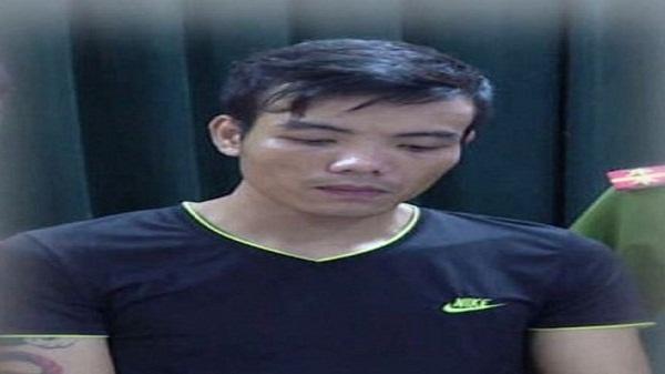 Phạm Văn Tùng bị bắt giữ. Ảnh: NTV