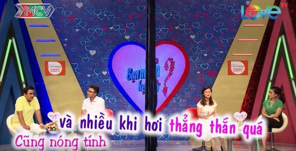 Nguyễn Liên chia sẻ khuyết điểm của mình trong chương trình. (Nguồn: Cắt từ video)