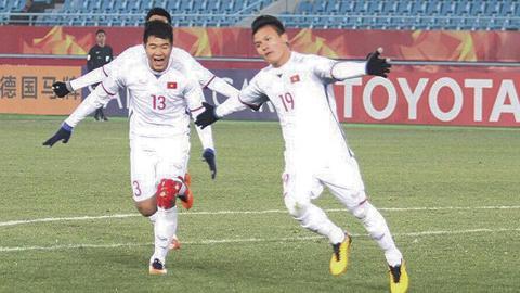 Tiền vệ Nguyễn Quang Hải (Hà Nội FC)